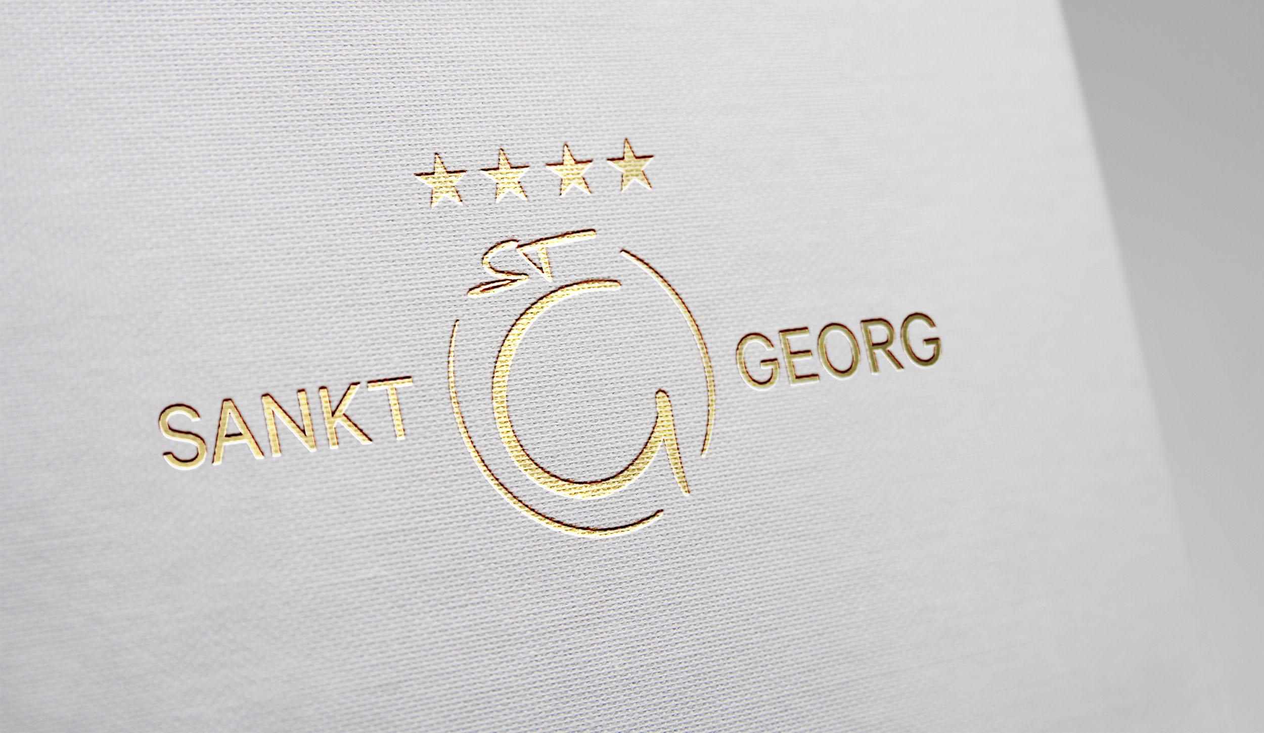 Branding und Corporate Design Hotel St Georg Mayrhofen