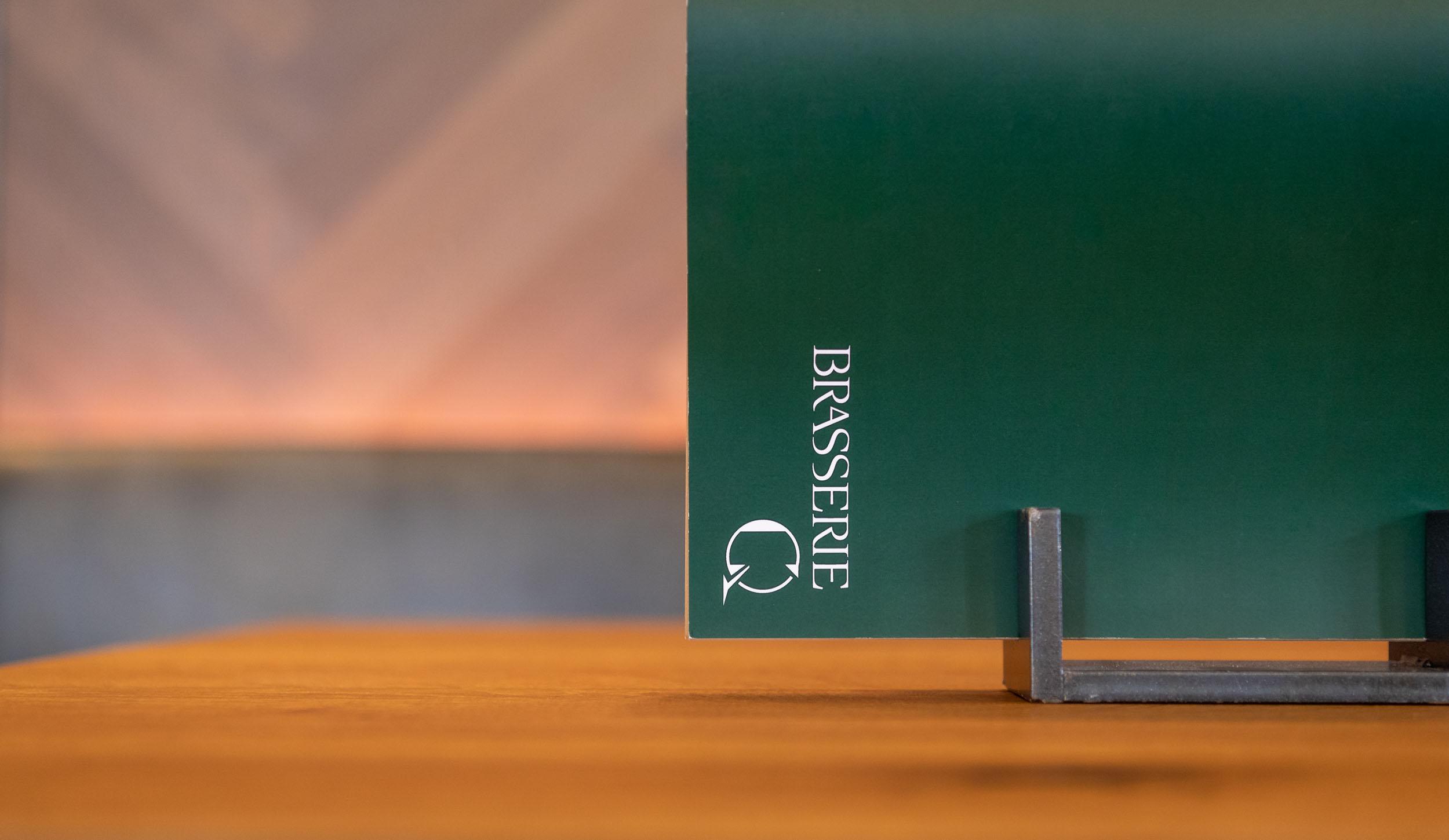Speisekarte, Visitenkarte Design Rosa & Leni