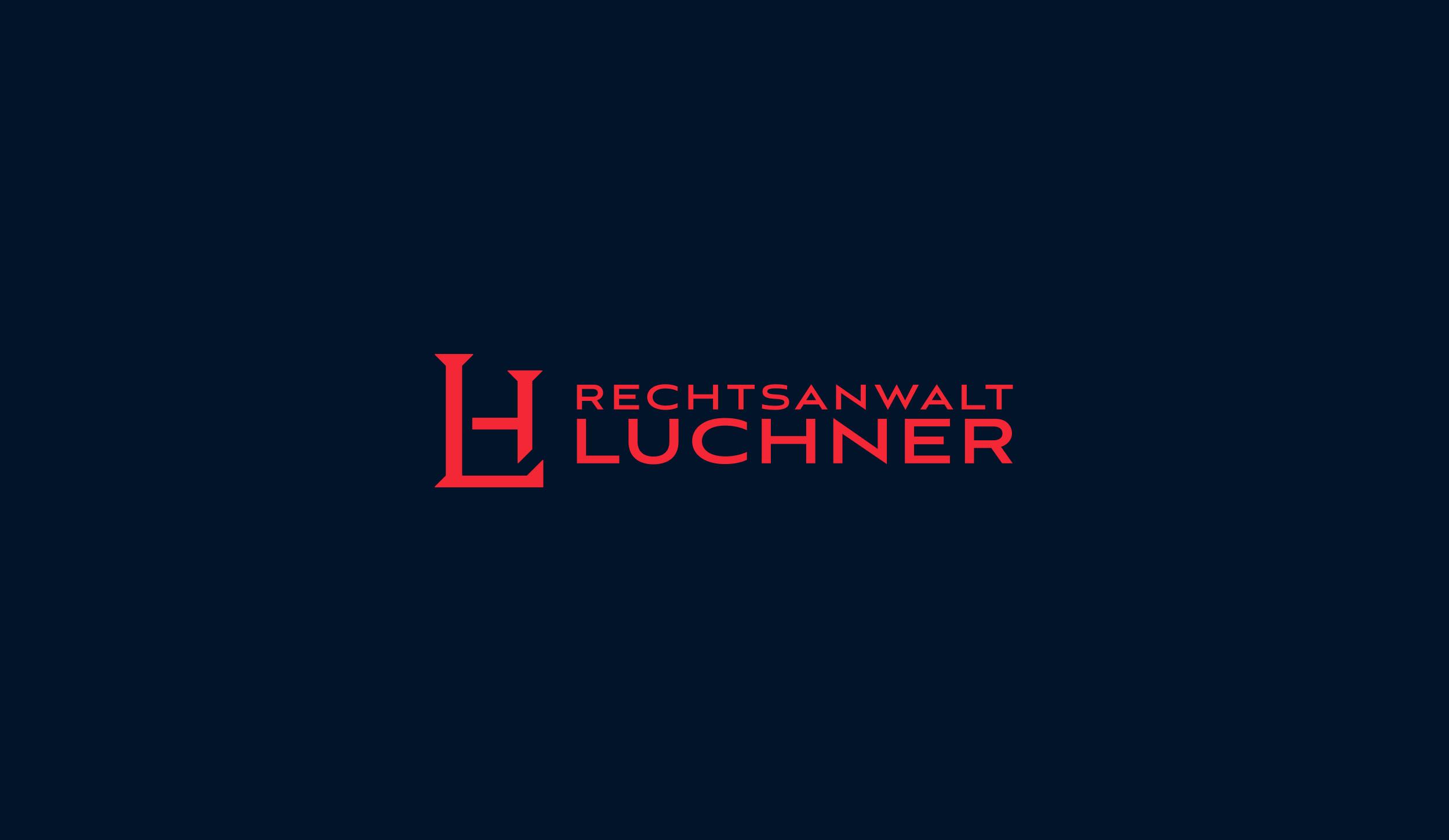 Logo Design Kanzlei Luchner Werbeagentur Zillertal Tirol